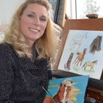 Debbie Lentz, illustrator of Why Horses Are and Why Cats Are, from the Love Unleashed childrens picture book series.