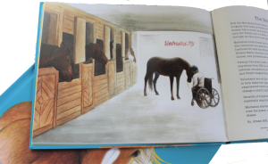 Childrens picture book Why Horses Are, inside page