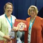 Childrens picture book Why Dogs Are creatives - Illustrator Marita Gentry, and author Tana Thompson.