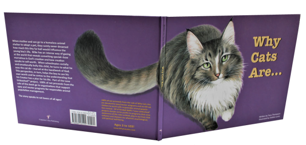 WHY CATS ARE childrens picture book, cover