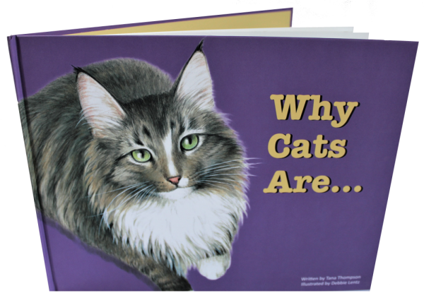 Why Cats Are, from children's book series LOVE UNLEASHED.