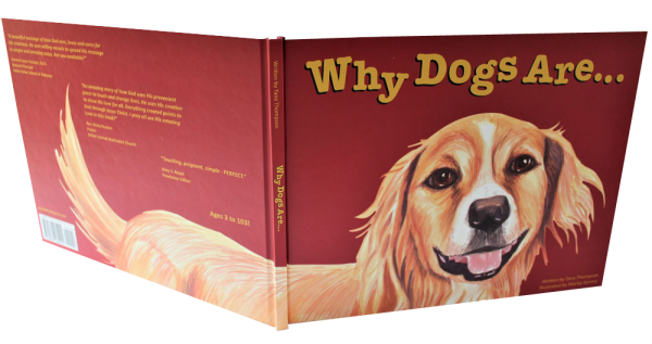WHY DOGS ARE childrens picture book, cover