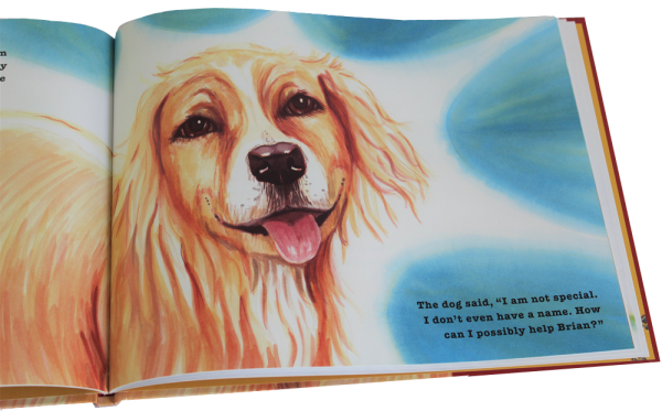 WHY DOGS ARE childrens picture book, inside page