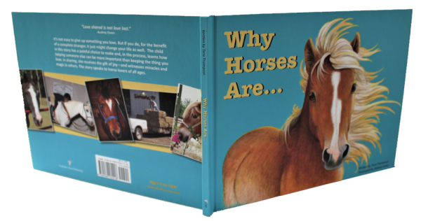 WHY HORSES ARE childrens picture book, cover