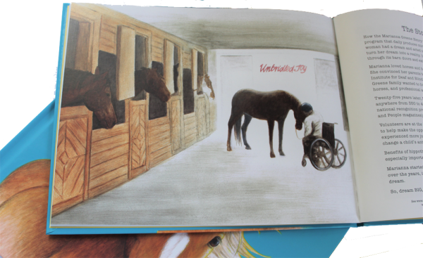 WHY HORSES ARE childrens picture book, inside page and cover